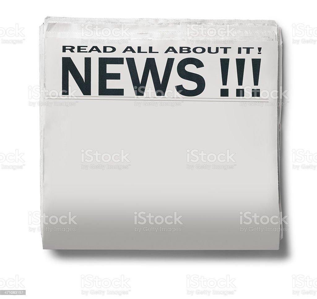 News!!! royalty-free stock photo