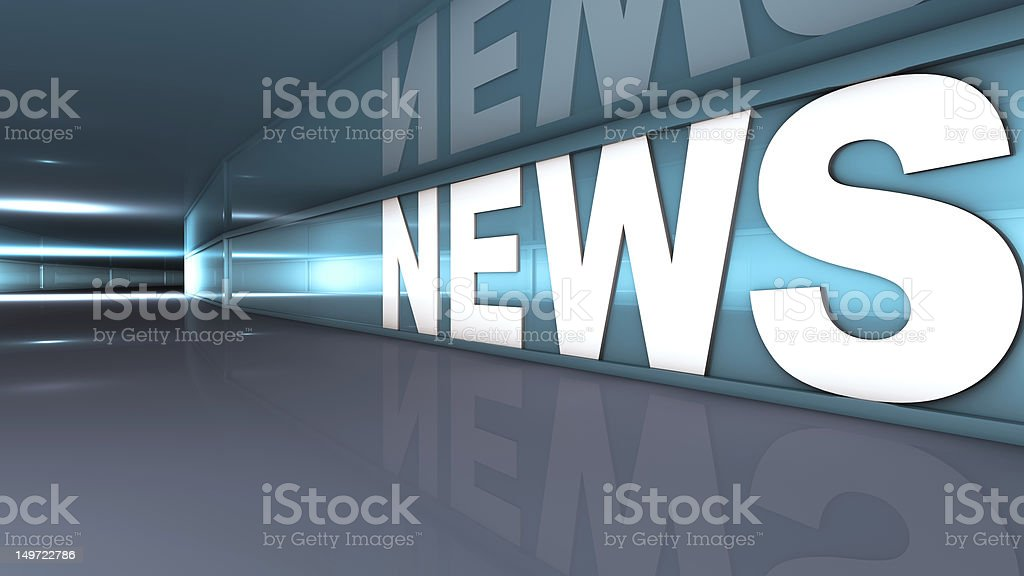 News text stock photo