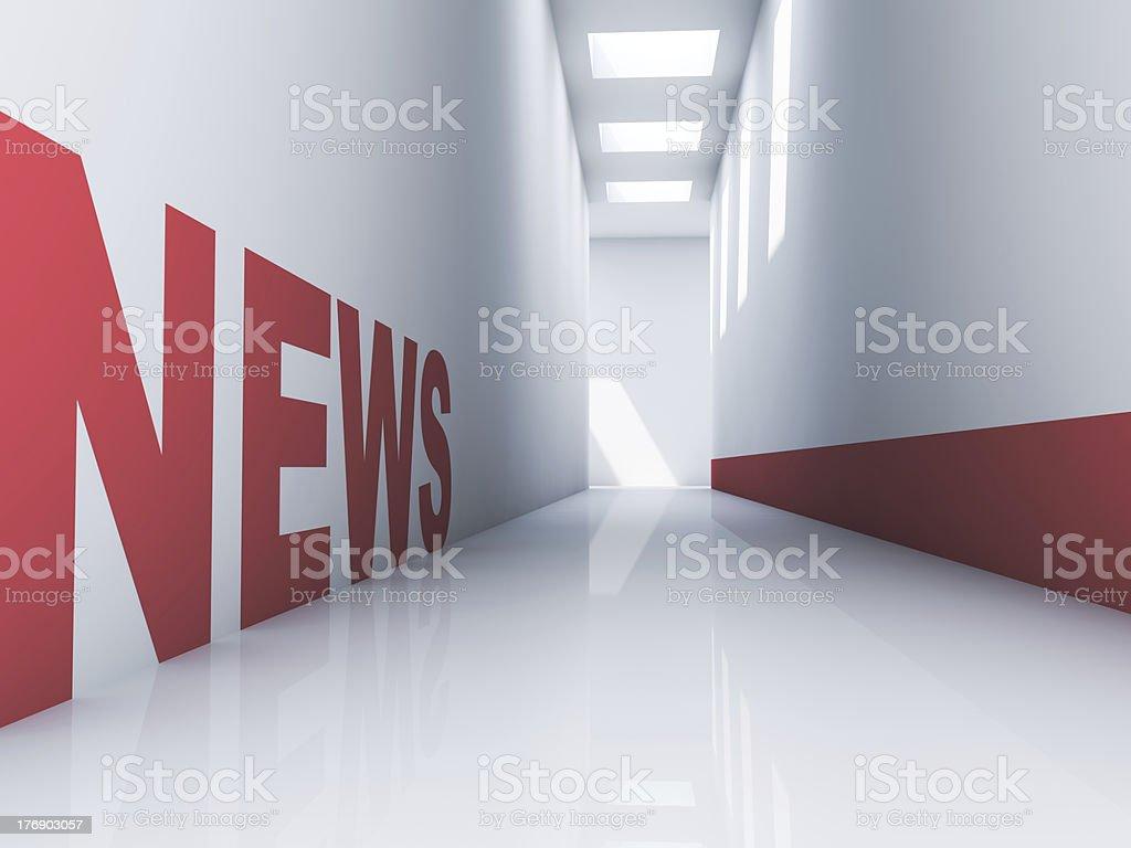 News Website - Royalty-free Communication Stock Photo