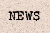 News word typewriting