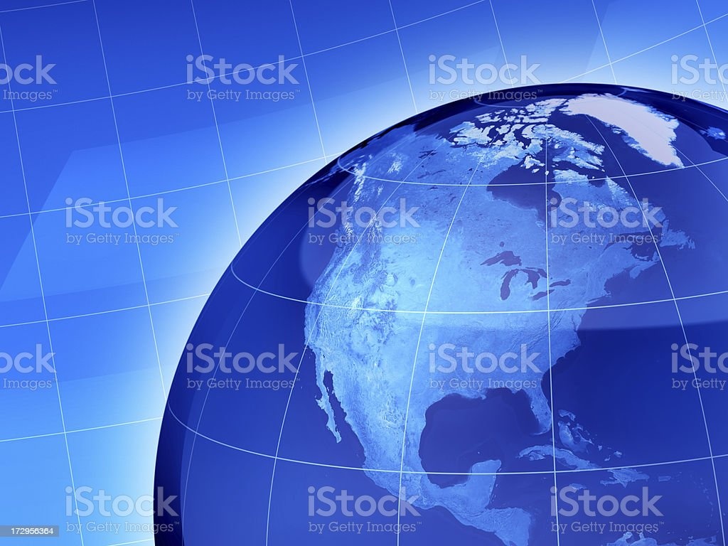 News World North America royalty-free stock photo