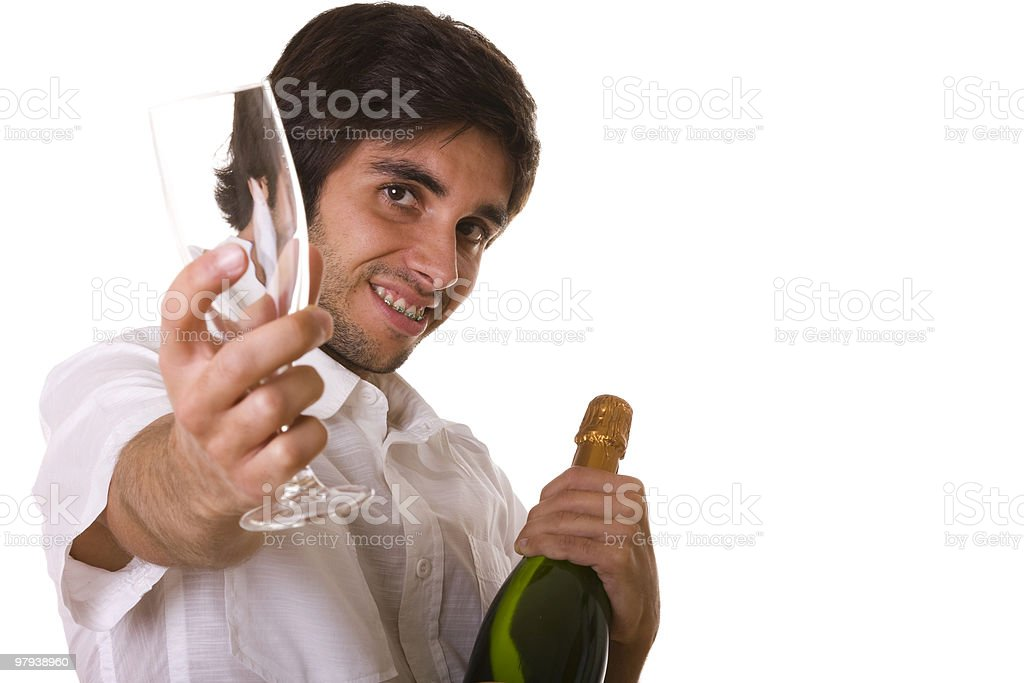 New's year eve party royalty-free stock photo