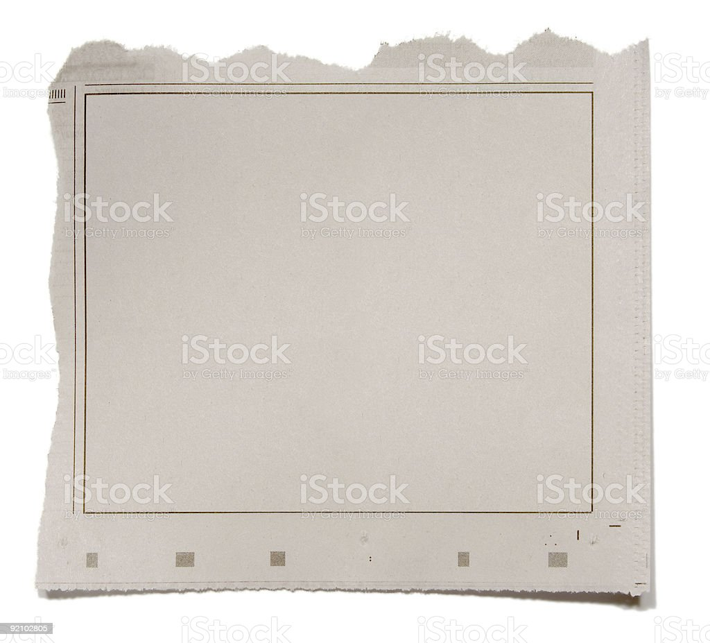 Newspaper Frame Stock Photo & More Pictures of Article | iStock