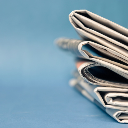 Newspaper Stock Photo - Download Image Now