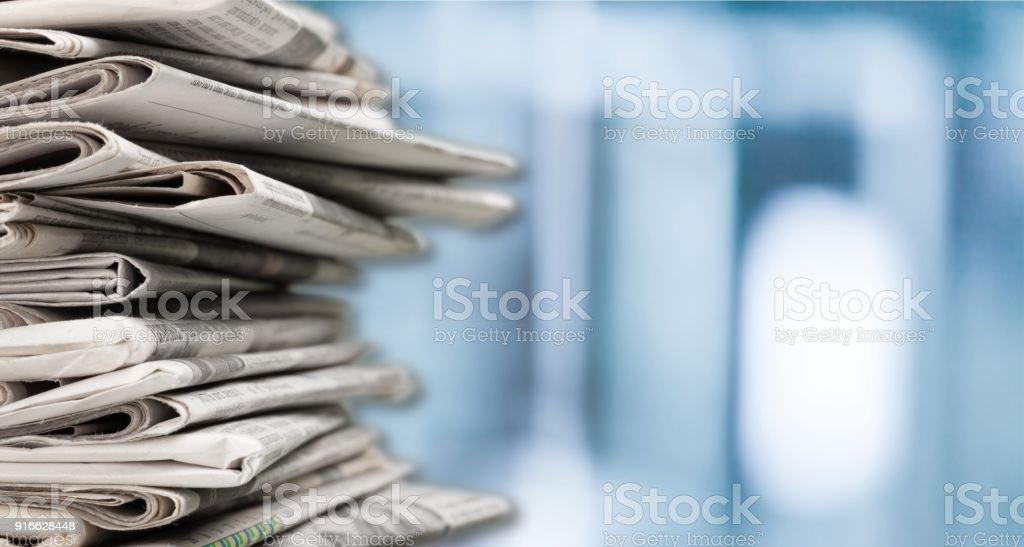 Newspaper. stock photo