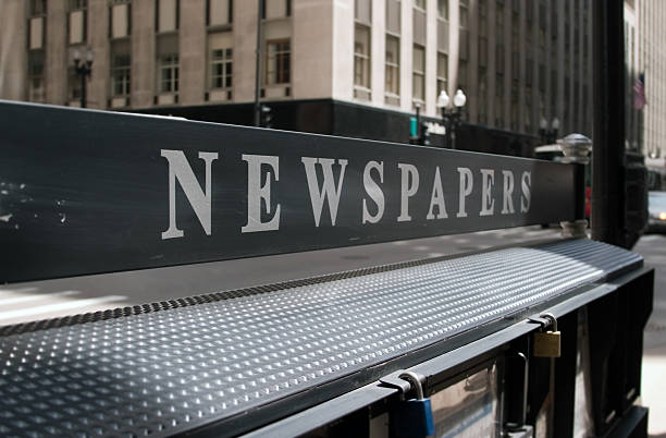 Newspaper Stand  news stand stock pictures, royalty-free photos & images