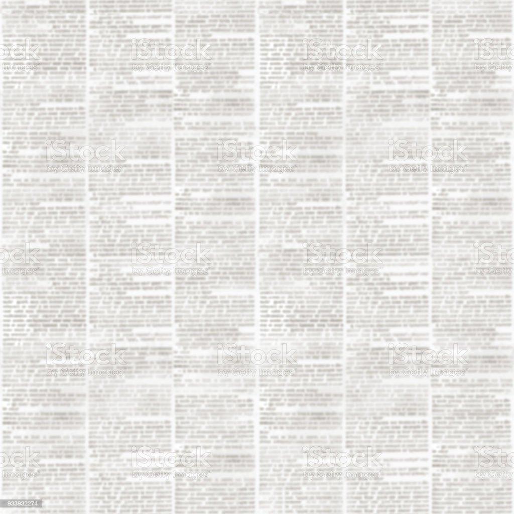 Newspaper texture seamless pattern stock photo