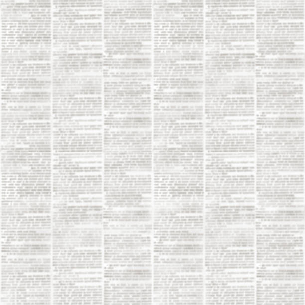 Newspaper texture seamless pattern stock photo