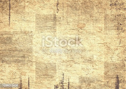 1134202009istockphoto Newspaper vintage grunge collage background 1036013426