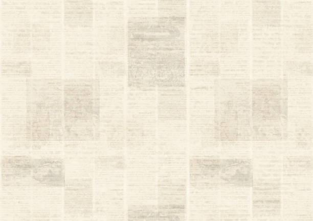zeitung jahrgang grunge-collage-hintergrund - zeitschrift wandkunst stock-fotos und bilder