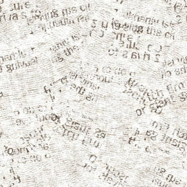 texture transparente de journal grunge vintage collage - page livre photos et images de collection