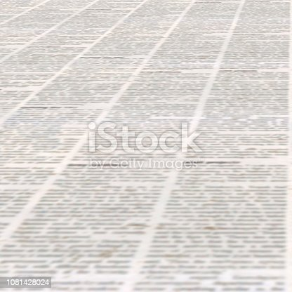 947207308istockphoto Newspaper with old vintage unreadable paper texture background 1081428024
