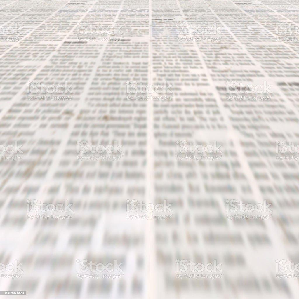 Periódico Con Fondo De Textura De Papel Ilegible Vintage Antiguo