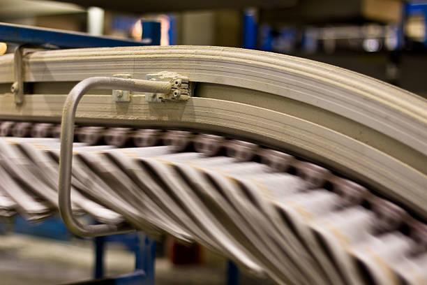Zeitungen in ein rutschfestes Kette – Foto