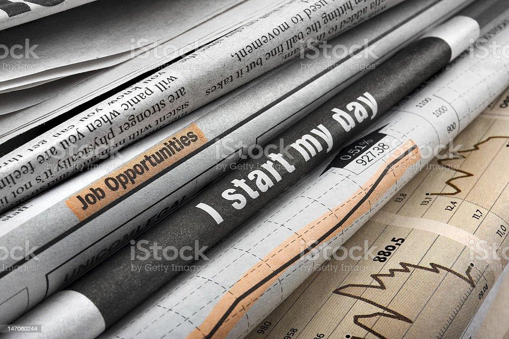 Zeitungen – Foto