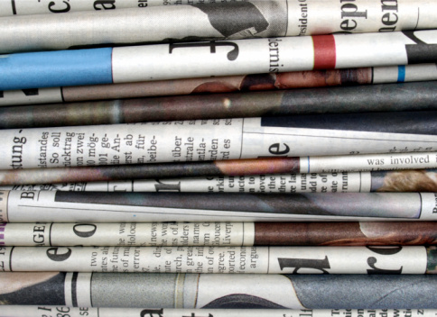 Newspapers Stock Photo - Download Image Now