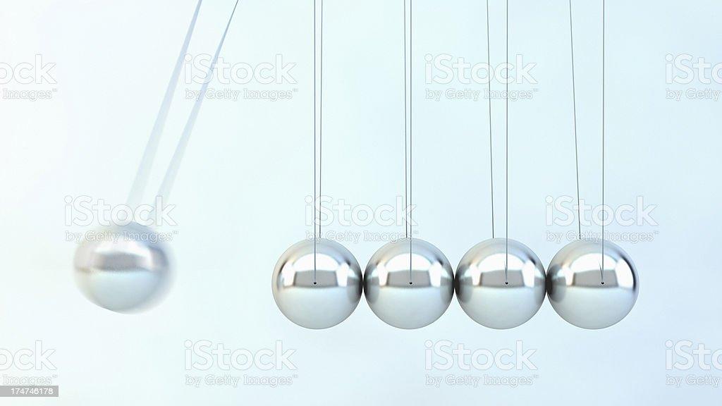 Newton Balls stock photo
