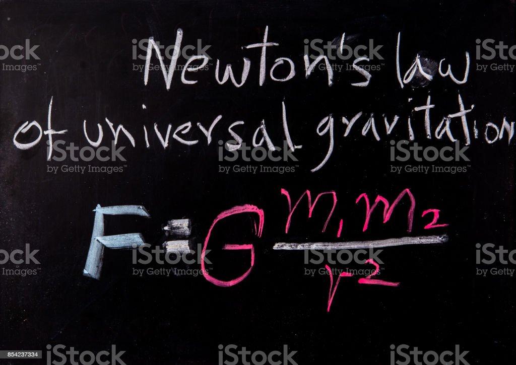ニュートン基板上低 ストックフォト