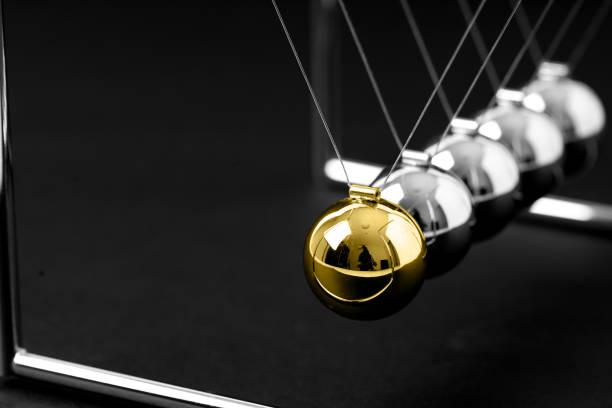 Newton-Wiege Ausgleich Kugeln, Business-Konzept im studio – Foto