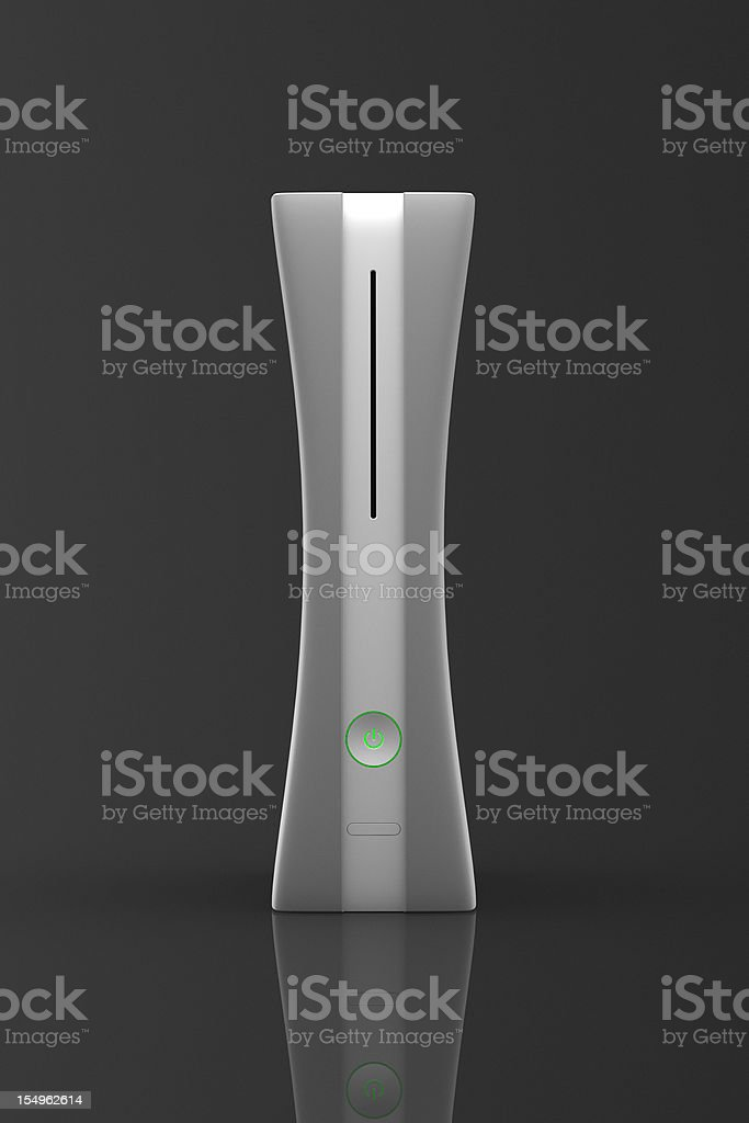 Next Gen Game Console royalty-free stock photo