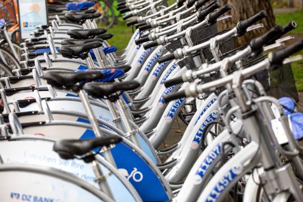 nextbike Fahrräder - Nahaufnahme – Foto