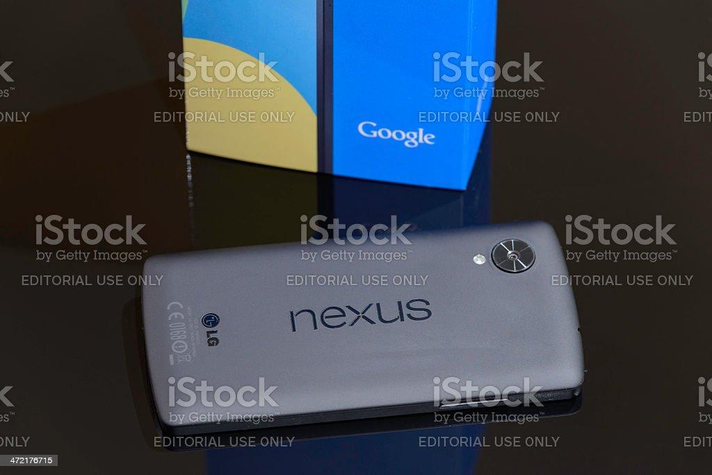 Nexus 5 royalty-free stock photo