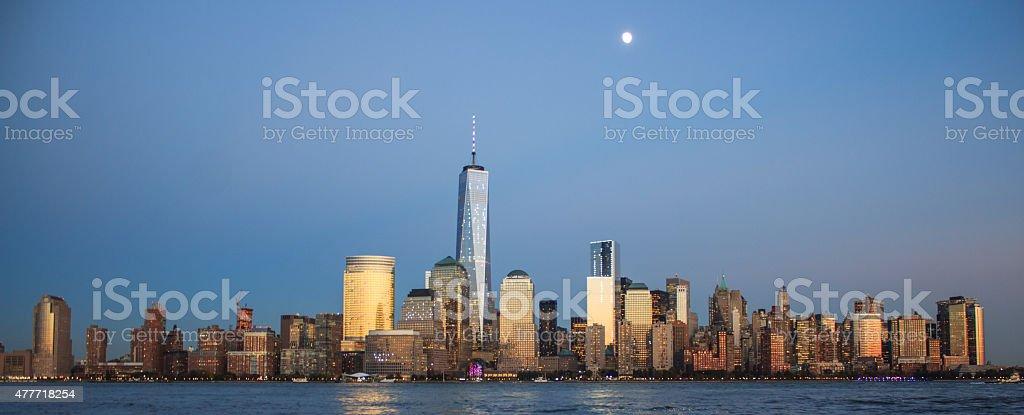 Neywork skyline stock photo