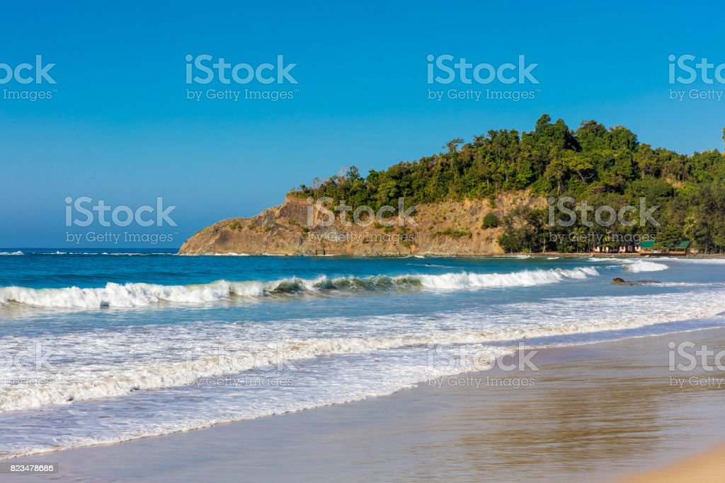 Ngapali Beach Rakhine state Myanmar stock photo