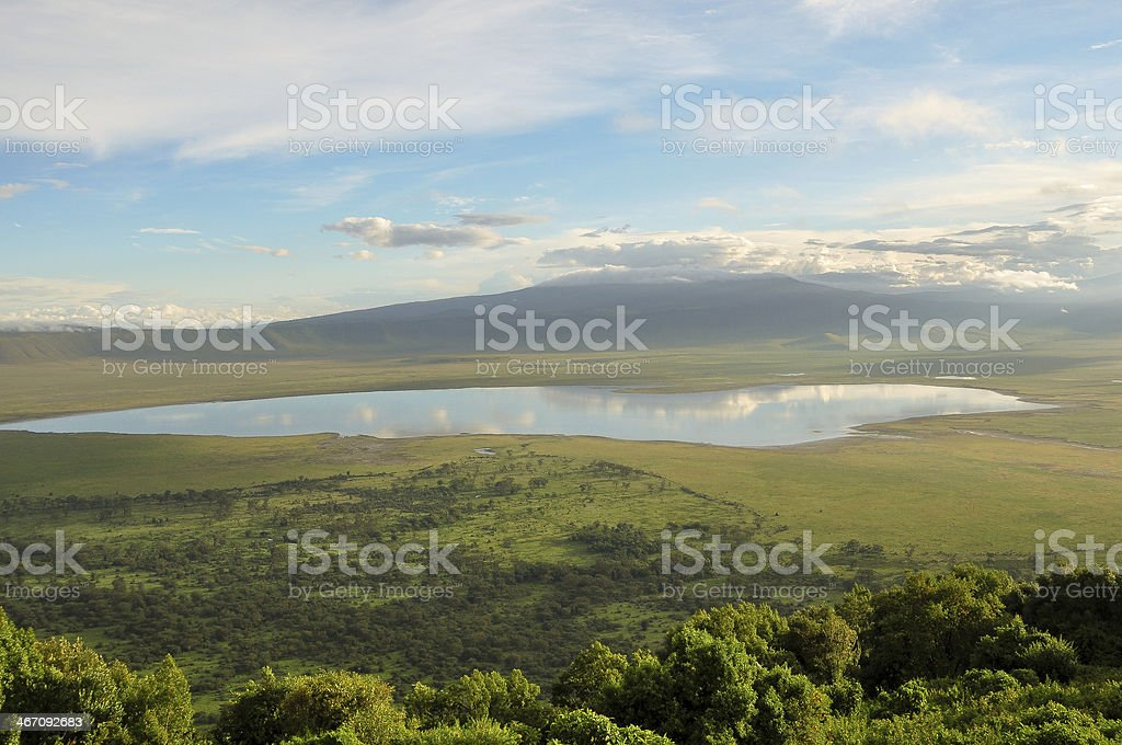 Ngorongoro Crater stock photo