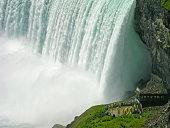 Niagara Falls, a complex of waterfalls on the Niagara River.