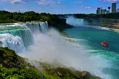 Niagara Falls Boat Tour and Waterfall Hiking Tour