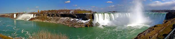 De la vue panoramique sur les chutes du Niagara - Photo