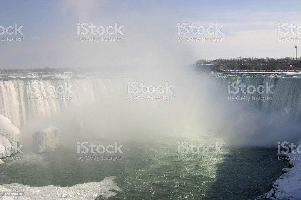 Niagara Falls, Horseshoe Falls royalty-free stock photo