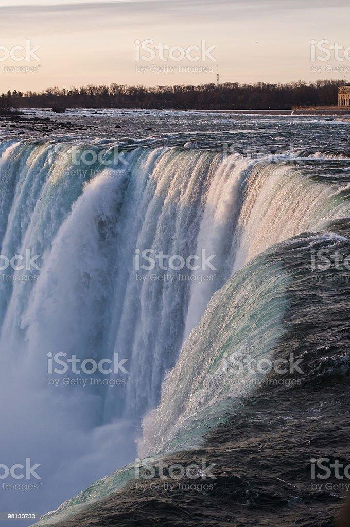 Niagara Falls (Horseshoe) in Winter royalty-free stock photo
