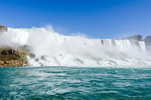 Niagara Falls Landscape, Ontario Canada