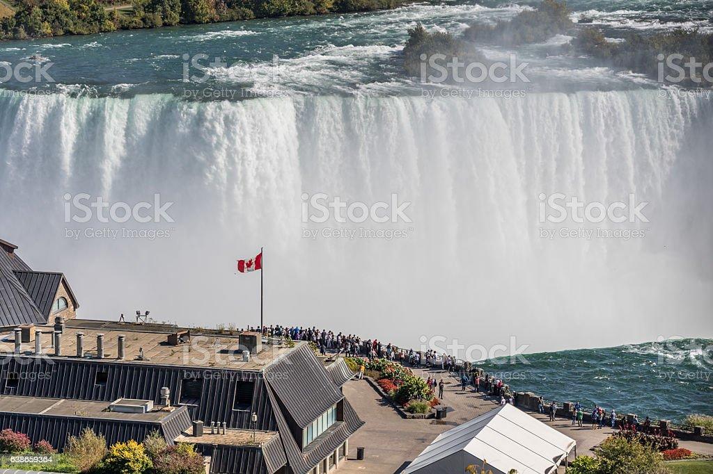 Niagara Falls Landscape stock photo