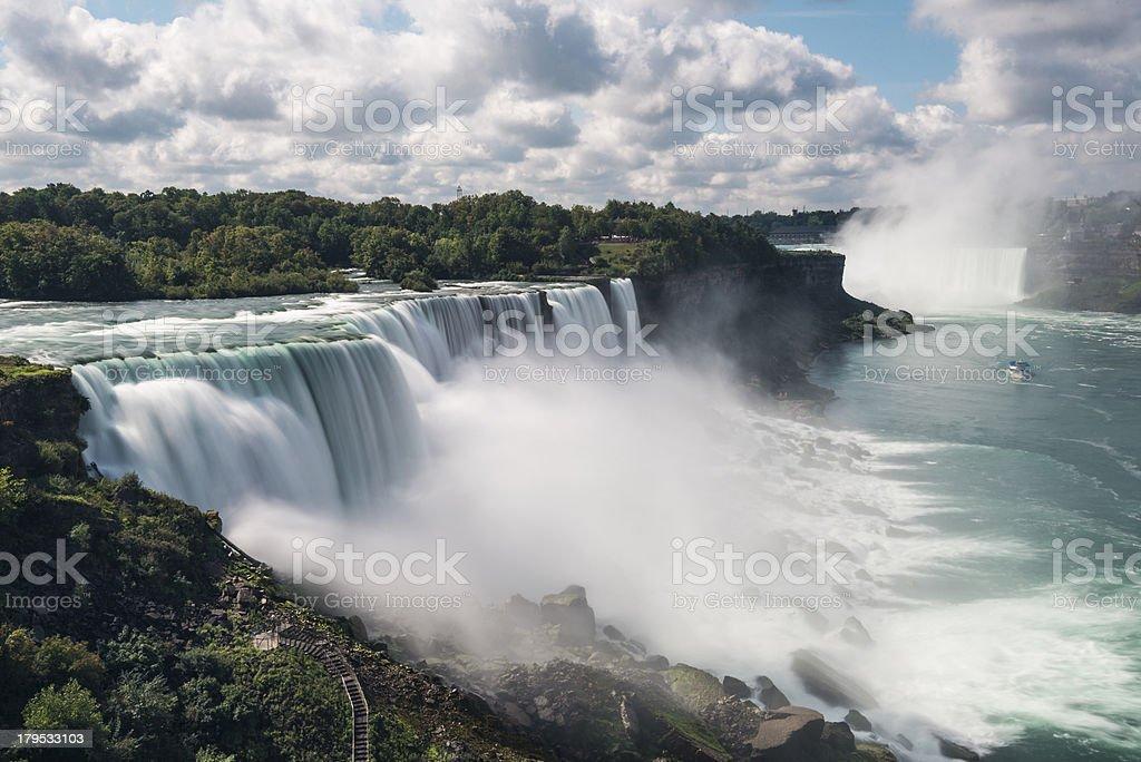 Niagara Falls Landscape View stock photo