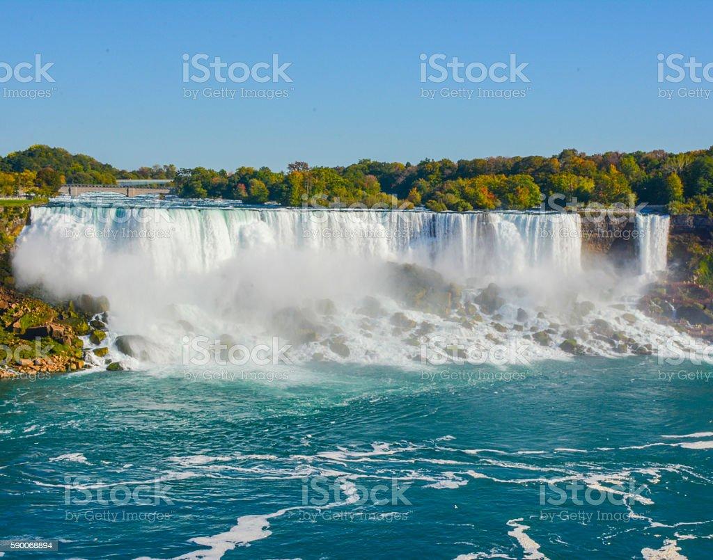 Niagara Falls NY stock photo