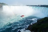 Although by far not the biggest or highest waterfalls in the world, the Niagara Falls are one of the most famous!