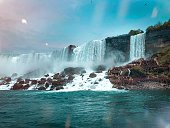 A brief trip across the boarders of the state granted the opportunity to retrieve breathtaking photos of Niagara Falls.