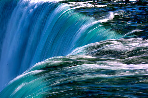 niagara falls - flowing stock pictures, royalty-free photos & images