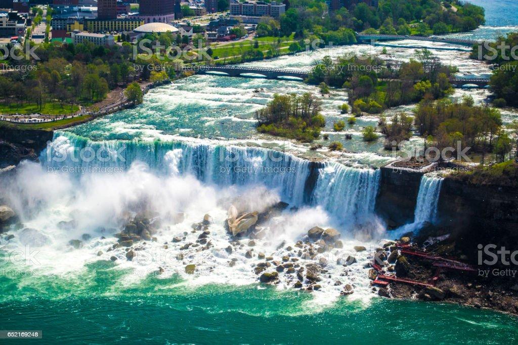Niagara Falls (American Falls) stock photo