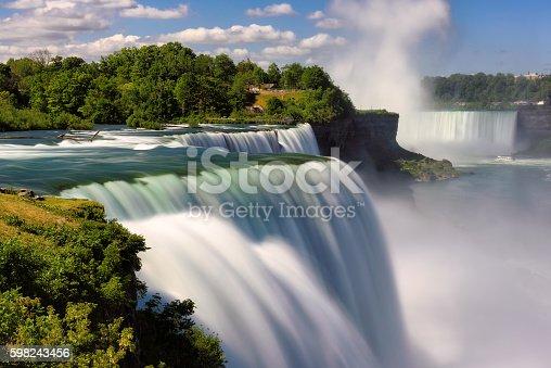 istock Niagara Falls Summer Time, Long exposure 598243456