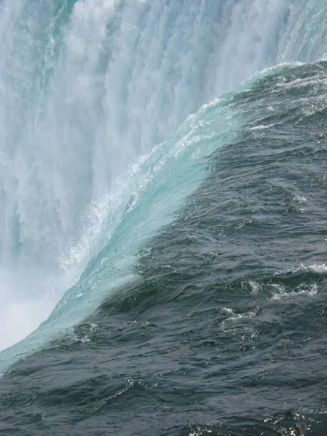 Niagara Falls - The Edge stock photo
