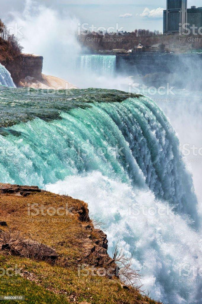 Niagara Falls USA Frühjahr Amerika Lizenzfreies stock-foto