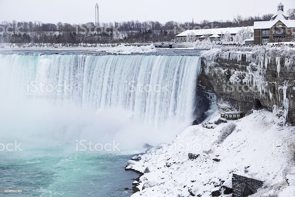 Niagara Falls Winter royalty-free stock photo