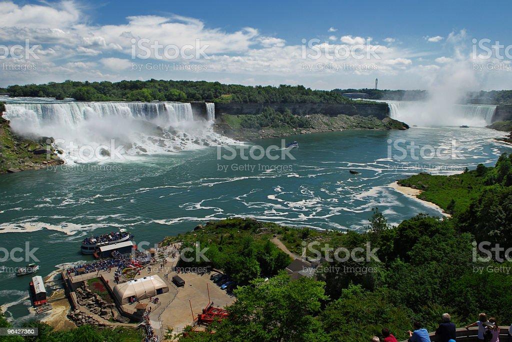 Niagara Fals stock photo