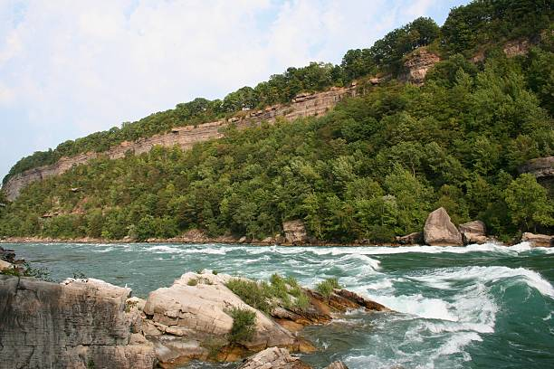 Niagara River Gorge stock photo