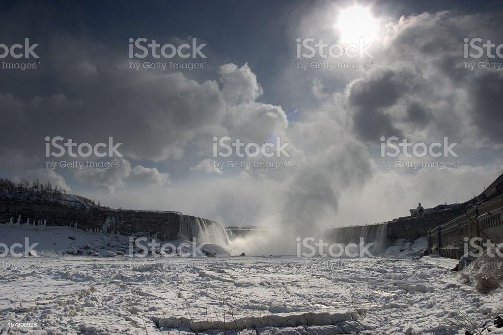 Niagara Winter royalty-free stock photo