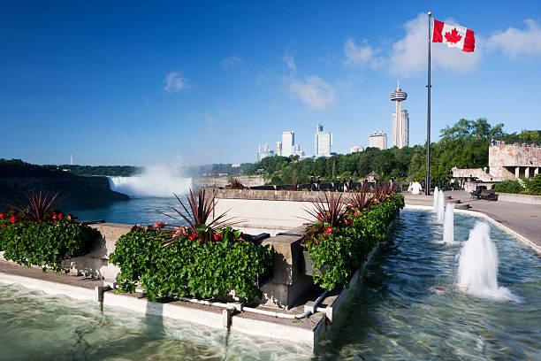 Niagra Falls Ontario stock photo